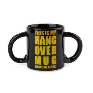 Hangover Double Handle Fun Ceramic Mug Coffee Cup